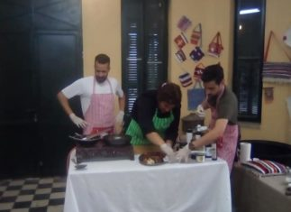 Μαγειρική στο χωρίο